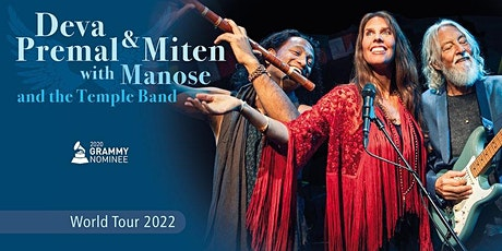 Deva Premal & Miten with Manose and the Temple Band - World Tour 2022 Tickets