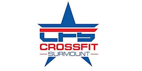 Crossfit Surmount - Body Composition Testing tickets