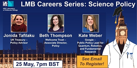 LMB GSA Science Careers Series: Intro to Policy Careers for Life Scientists tickets