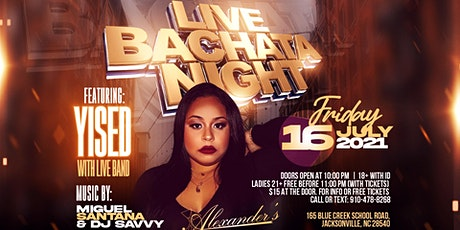 Live Bachata Night featuring:  YISED! tickets