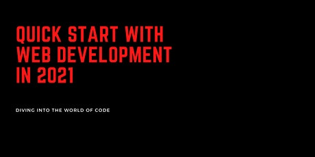 Getting started with Web Development in 2021 tickets
