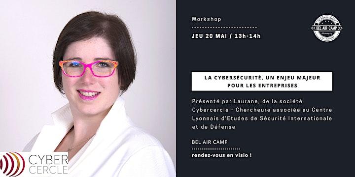 """Image pour Workshop """"La cybersécurité, un enjeu majeur pour votre entreprise"""""""