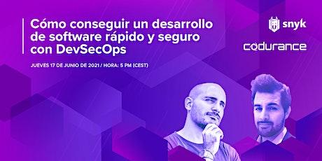 Cómo conseguir un desarrollo de software rápido y seguro con DevSecOps boletos