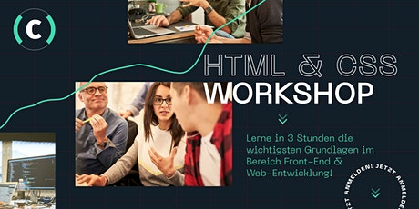 HTML & CSS Workshop - für Anfänger Tickets