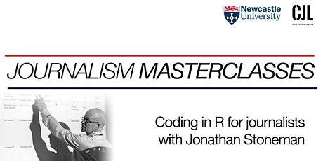 Coding in R for journalists tickets