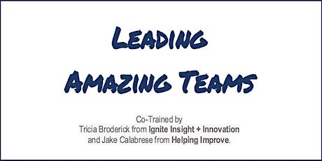 Agile Leadership: Leading Amazing Teams (LAT) -  Virtual tickets