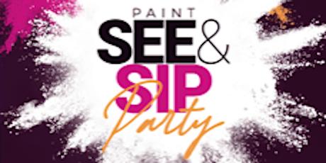 PaintSee&Sip Durham tickets