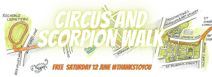 Free Circus Workshop & Fossil Walk image