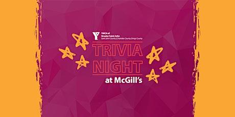YMCA Trivia Night at McGill's tickets