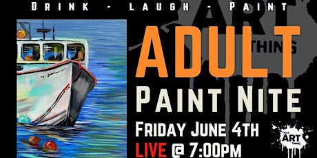 Date Night Paint Night - NS Virtual Lobster Festival tickets
