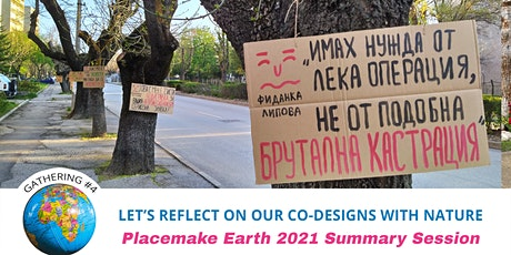 Placmake Earth 2021 Summary of Projects tickets