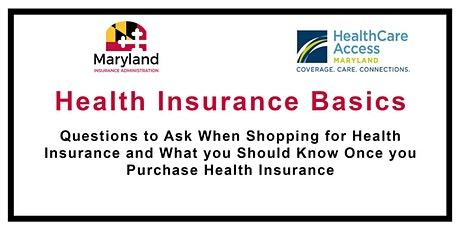 Health Insurance Basics - What you need to know before shopping tickets