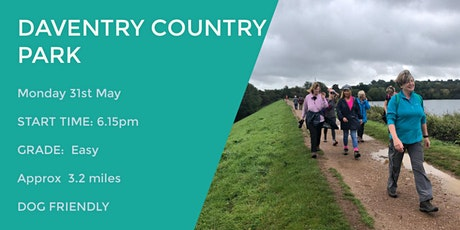 DAVENTRY COUNTRY PARK EVENING WALK | 3.2 MILES | EASY | NORTHANTS tickets
