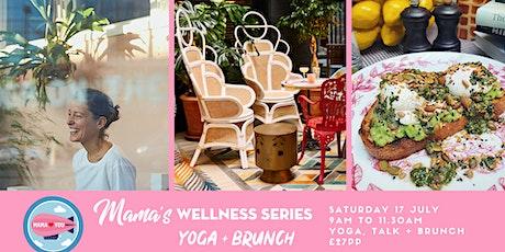 Yoga + Brunch in our Garden Bar tickets