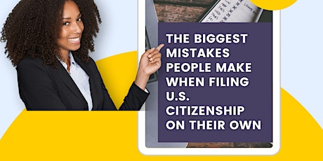 FREE TRAINING: How to Get Your Citizenship Application Approved tickets
