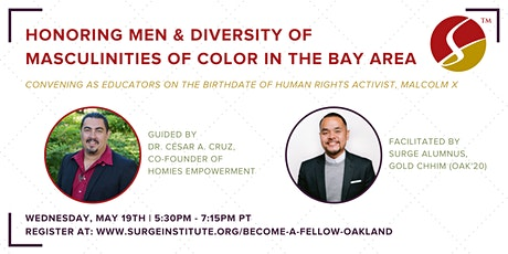 Honoring Men of Color & Diversity of Masculinities of Color in the Bay Area tickets