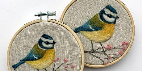 Needle Felt a Blue-tit Workshop with Heysham's Connecting to Nature Project tickets