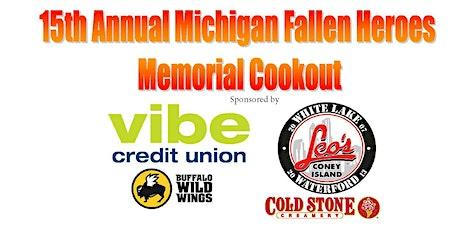 Michigan Fallen Heroes Memorial Cookout tickets