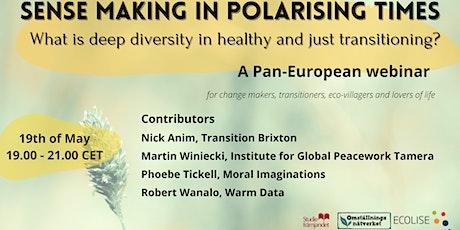 Sense making in polarising times tickets