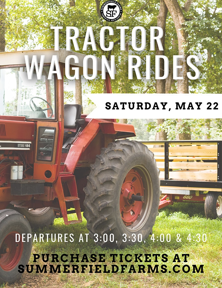Spring Tractor Wagon Rides 5.22.21 image