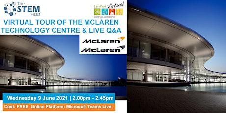 Science Jamboree: Virtual Tour of the McLaren Technology Centre & live Q&A tickets