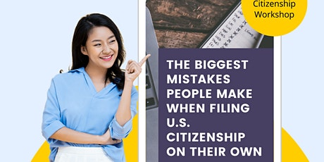 FREE TRAINING: Avoiding the BIG MISTAKES on your Citizenship Application tickets