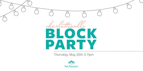 Block Party at Pet Paradise Charlottesville tickets