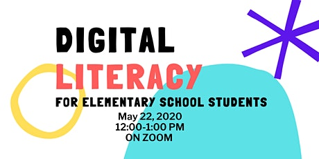Digital Literacy for Elementary School Students tickets