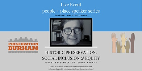 Historic Preservation, Inclusion & Equity tickets