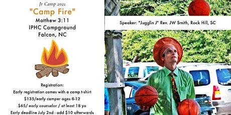 NC Jr. Camp 2021 tickets