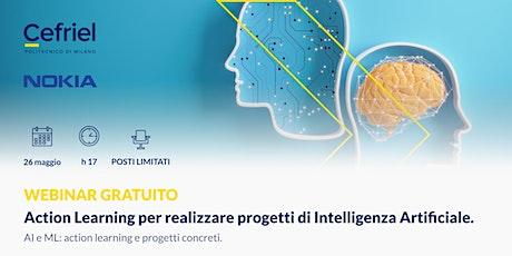 Action Learning per realizzare progetti di Intelligenza Artificiale biglietti