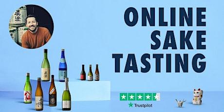 Online Sake Tasting | Exploring Yamagata Sake with Sake Sommelier! tickets