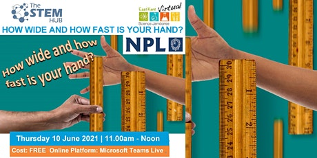 Science Jamboree: How wide and how fast is your hand? tickets