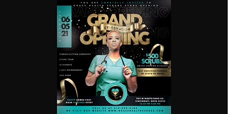 Grace Health Scrubs Store Grand Opening tickets