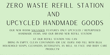 Refillery and Zero waste store located in Worcester, MA tickets