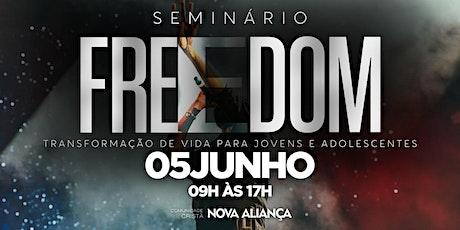 Seminário Freedom - 05/06/2021 ingressos