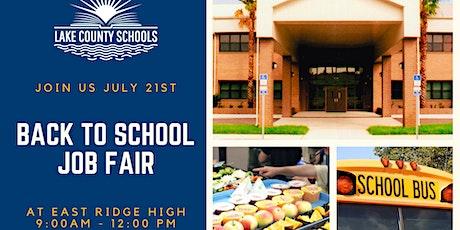 2021 Lake County Schools District Job Fair tickets