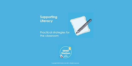 Supporting Literacy - Staff Meeting Session tickets