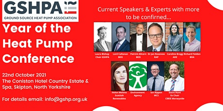 The Year of the Heat Pump - GSHPA Annual Conference tickets