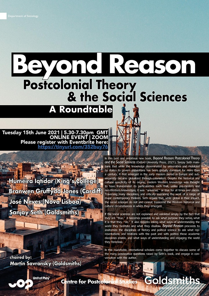 Beyond Reason: Postcolonial Theory and the Social Sciences image