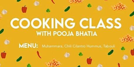 GT WAN Mediterranean Inspired Cooking Class tickets