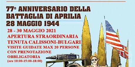 77° Anniversario della Battaglia di Aprilia . biglietti