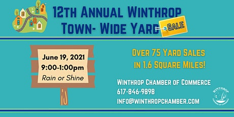 12th Annual Winthrop Town-Wide Yard Sale tickets