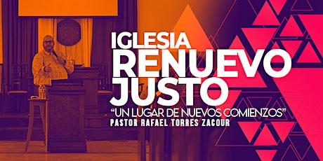 Culto de Adoracion Iglesia Renuevo Justo Domingo 16 de Mayo tickets