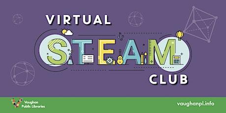 Virtual STEAM Club tickets