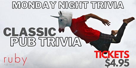 Monday Night Classic Pub Trivia tickets