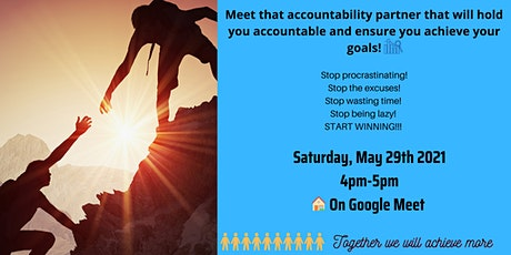 Meet Your Accountability Partner tickets