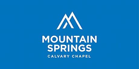 Church @ MSCC 7:00pm (Full Children's Ministry Program) tickets