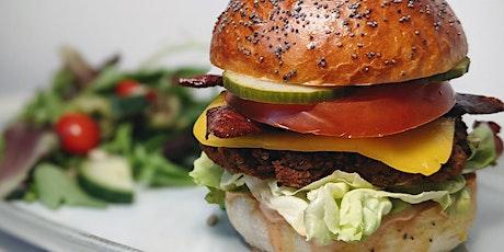 Platewell Vegan Cooking Class l Vegan Sweet Potato Bacon Burgers tickets