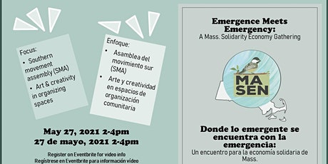 MA Solidarity Economy Network Presents Emergence Meets Emergency: Part III tickets